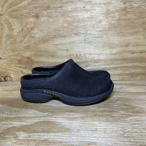 Merrell Primo Breeze II Mesh Mule Shoes Womens Size 8 Black 63302 Comfort SlipOn